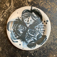 Thomas Campbell Paint on plate 2019