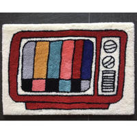"STOMACHACHE. x Pacifica Collectives ""Color TV Rug"""