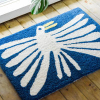 """Nathaniel Russell x PacificaCollectives """"White Bird"""" Rug"""