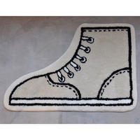 "STOMACHACHE. x Pacifica Collectives ""SNEAKERS""Rug"