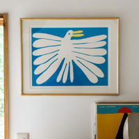 "Nathaniel Russell x PacificaCollectives ""White Bird"" Silkscreen"