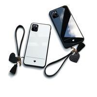 iPhone ケース おしゃれ 可愛い シンプル ハート 大人 かっこいい カップル ペア かわいい お洒落 ワンポイント