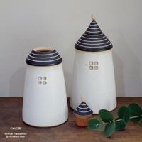 小鳥とおうち - 花器 -