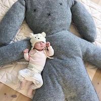 ウサギ  大きいサイズ  巨大  抱き枕  もちふわクッション  マット  ぬいぐるみ  150*110*13cm