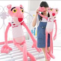 ピンクパンサー   ぬいぐるみ  編みぐるみ  抱き枕 100cm