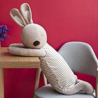 ウサギ うさぎ ぬいぐるみ  編みぐるみ  抱き枕  70cm