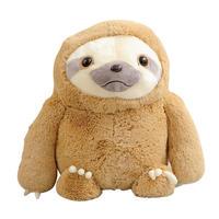 ナマケモノ  ぬいぐるみ   抱き枕  もちふわクッション 50cm