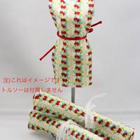 m11  キキパルフェミニチュア生地 イチゴとさくらんぼ2 50cm×25cm  のコピー