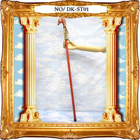 DK-ST01 カラーステッキ<和/馬/RED>