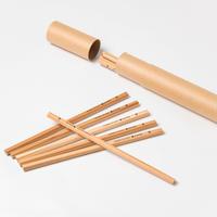 「普通に、木の文具」シリーズ びわ湖の森の鉛筆(10本入り)