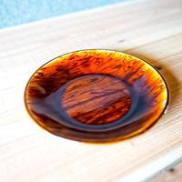 風唄窯 スリップウェア 取り皿 直径16.5cm高さ2.8cm