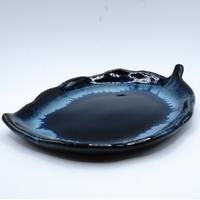 秀山窯 リーフ平皿(小)
