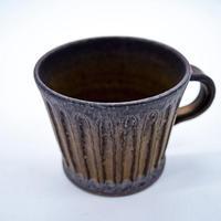中川雅佳 しのぎ(金釉)マグカップ