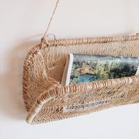 Tree Bark Hanging Basket