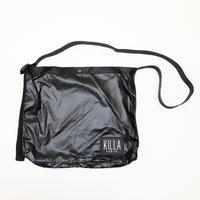 RUBBER BOX LOGO MINI SHOULDER BAG  BLACK
