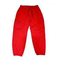 ESSENTIAL LOGO SHELL JOGGER RED