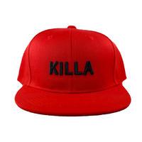 KILLA FRONT LOGO CAP RED