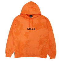 NEW ESSENTIAL BOX LOGO HOODIE BLEACH ORANGE