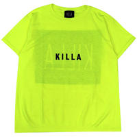 KIDS NEW ESSENTIAL BOX LOGO S/S TEE SAFETY GREEN