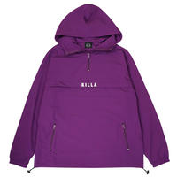 NEW ESSENTIAL LOGO  SHELL ANORAK  JACKET  PURPLE