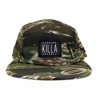 RUBBER BOX LOGO 5PANEL CAP TIGER CAMO