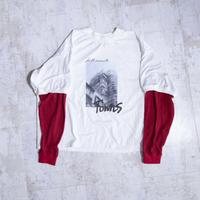 200205レイヤースリーブTシャツ(白)