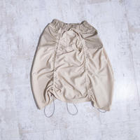 200213ドローコードスカート(ベージュ)