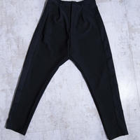 200211ストレッチテイパードパンツ(黒)