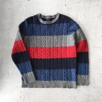 ⦅stussy⦆ウールニットセーター