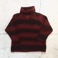 モヘアニットセーター
