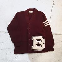 ⦅ROPER sportwear⦆40s ウールニット レタードカーディガン