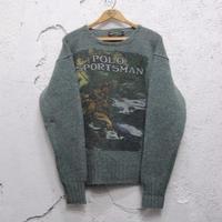 【POLO COUNTRY】ウールニット セーター