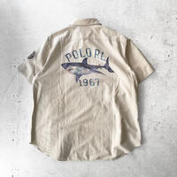"⦅POLO by Ralph Lauren⦆03s ""OCEAN CAMP"" S/Sボタンシャツ"