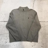 ⦅POLO by Ralph Lauren⦆ハーフジップセーター