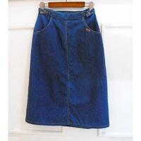 Levi's denim wrap skirt