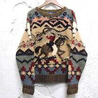【Ralph Lauren】ウールニット セーター