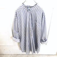 EURO バンドカラー パジャマシャツ
