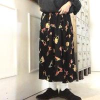 レトロ ロングスカート