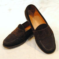 """POLO by ralph lauren"" suede leather loafer"