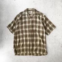 USED スリランカ製 S/S シャツ