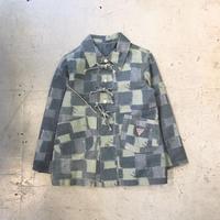 ⦅GUESS⦆パッチワークジャケット