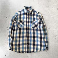 ⦅BIG MAC⦆80s USA製 コットンフランネルシャツ