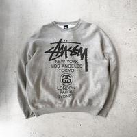 ⦅old stussy⦆90s スウェットセーター