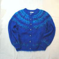 Nordic Mohair Knit Cardigan