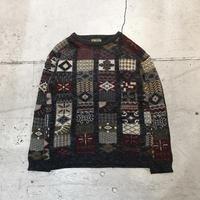 USED イタリア製ニットセーター