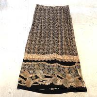 USA rayon long skirt