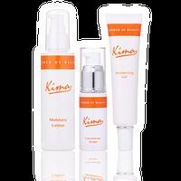Kima 3点セット(モイスチャーローション・美容液・保湿クリーム)