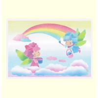 B6【虹を描く妖精】