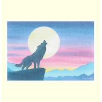 B6【月と狼】