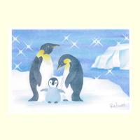 B6【ペンギンの親子】